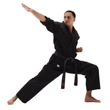 Black Student Karate Uniform